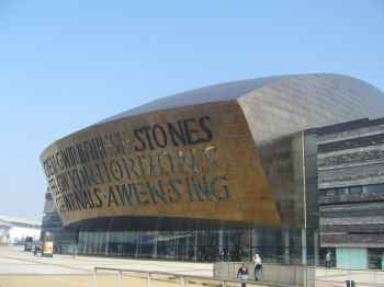 The Wales Millennium Centre, Cardiff Bay