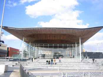 The Wales Assembly Government building, Cardiff Bay