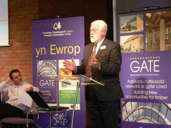 Professor Michael Benfield, Wales Forest Business Partnership
